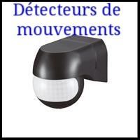Matériel électrique détecteur de mouvements pour éclairage automatique intérieur & extérieur