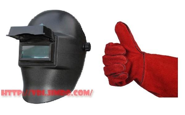 Подарочные маска электроды и краги