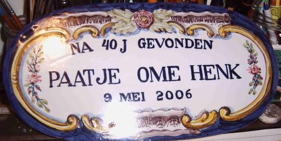 Weerzien met Ome Henk ItzigHeine.