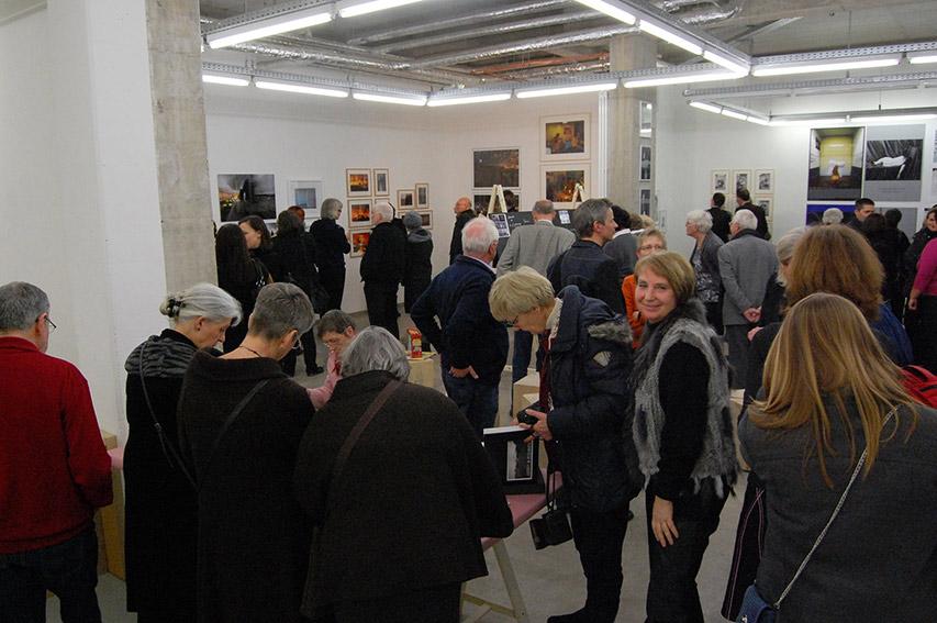 Eröffnung in der Fiftyfifty-Galerie Düsseldorf