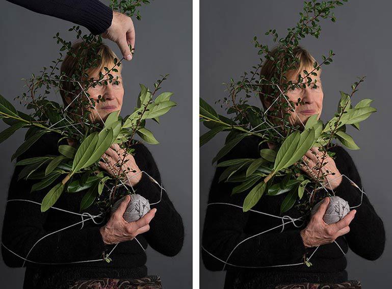Irene Drehmann bei Fotoaktion