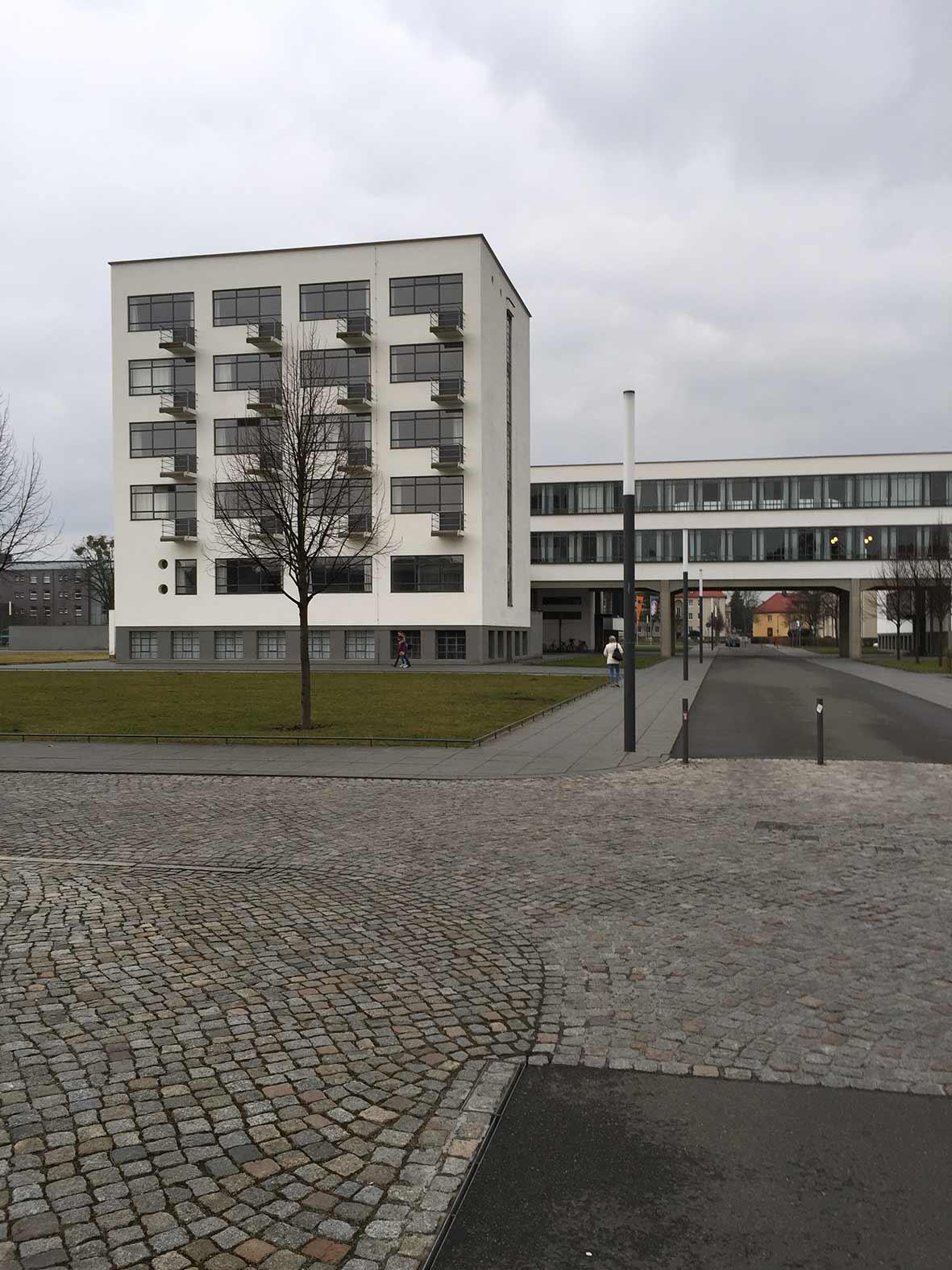 Exkursion nach Dessau 2015