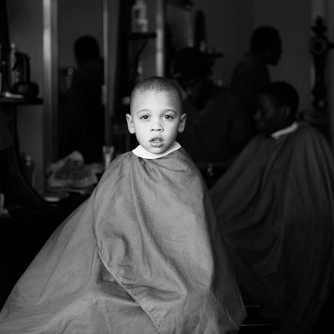 Barbershop in London © Birgitta Thaysen 2008