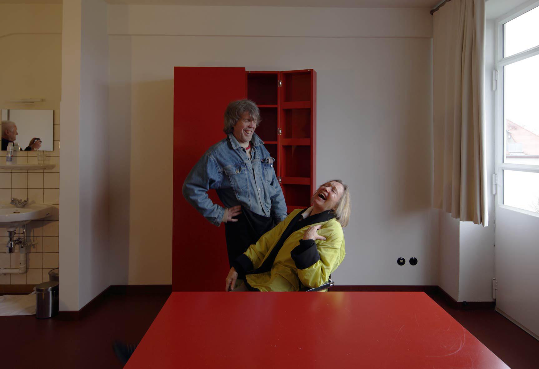 Fotoaktion im Hotelzimmer Dessau