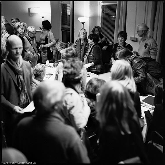 Eröffnung im Studio Düsseldorf