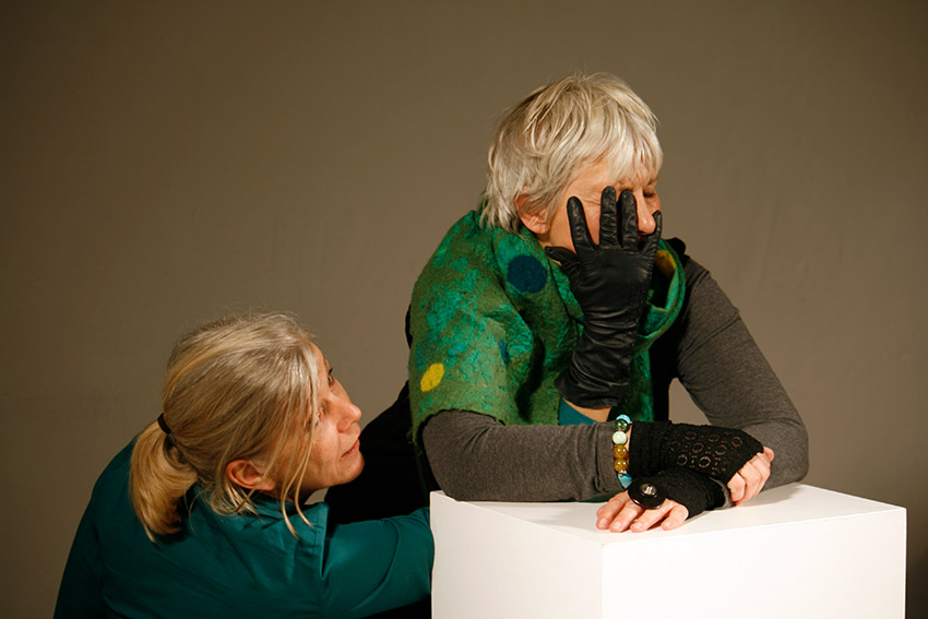 Birgitta Thaysen & Marion Reckow-Memmert bei Fotoaktion