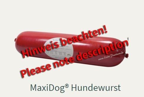 Die Hundewurst von Reico Maxidog Hundewurst