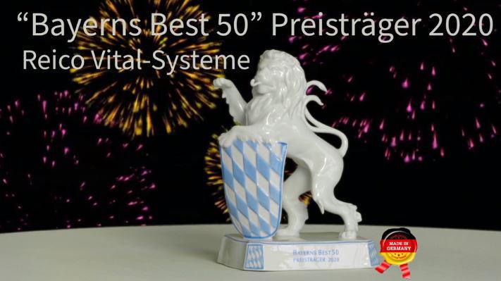 """Reico unter den wachstumsstärksten Unternehmen in Bayern  """"Bayerns Best 50"""""""