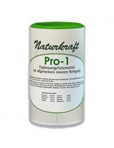 Pro 1 ist ein Ergänzungsfuttermittel zur allgemeinen inneren Reinigung für Hunde und Katzen.