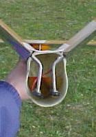 planeur Miraj Aeromod blanc orange - vue de derrière