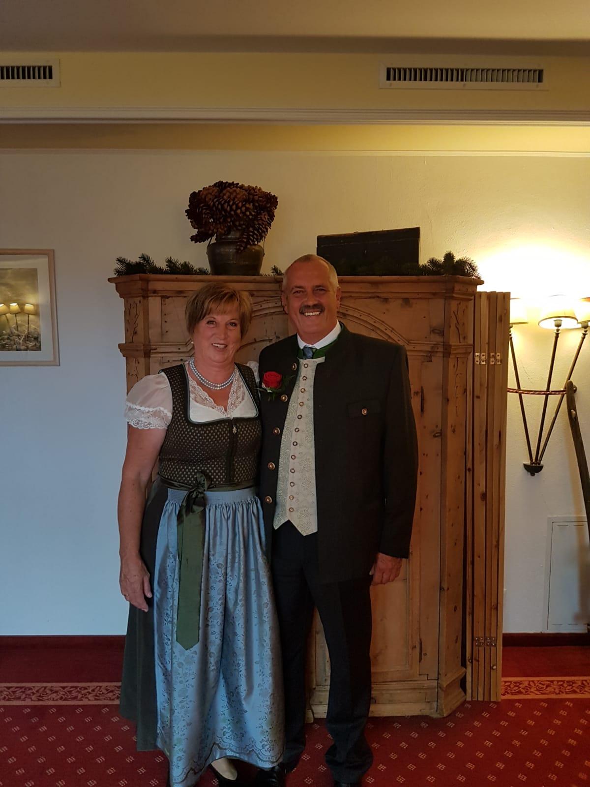 Gertraud und Sepp Oberguggenberger
