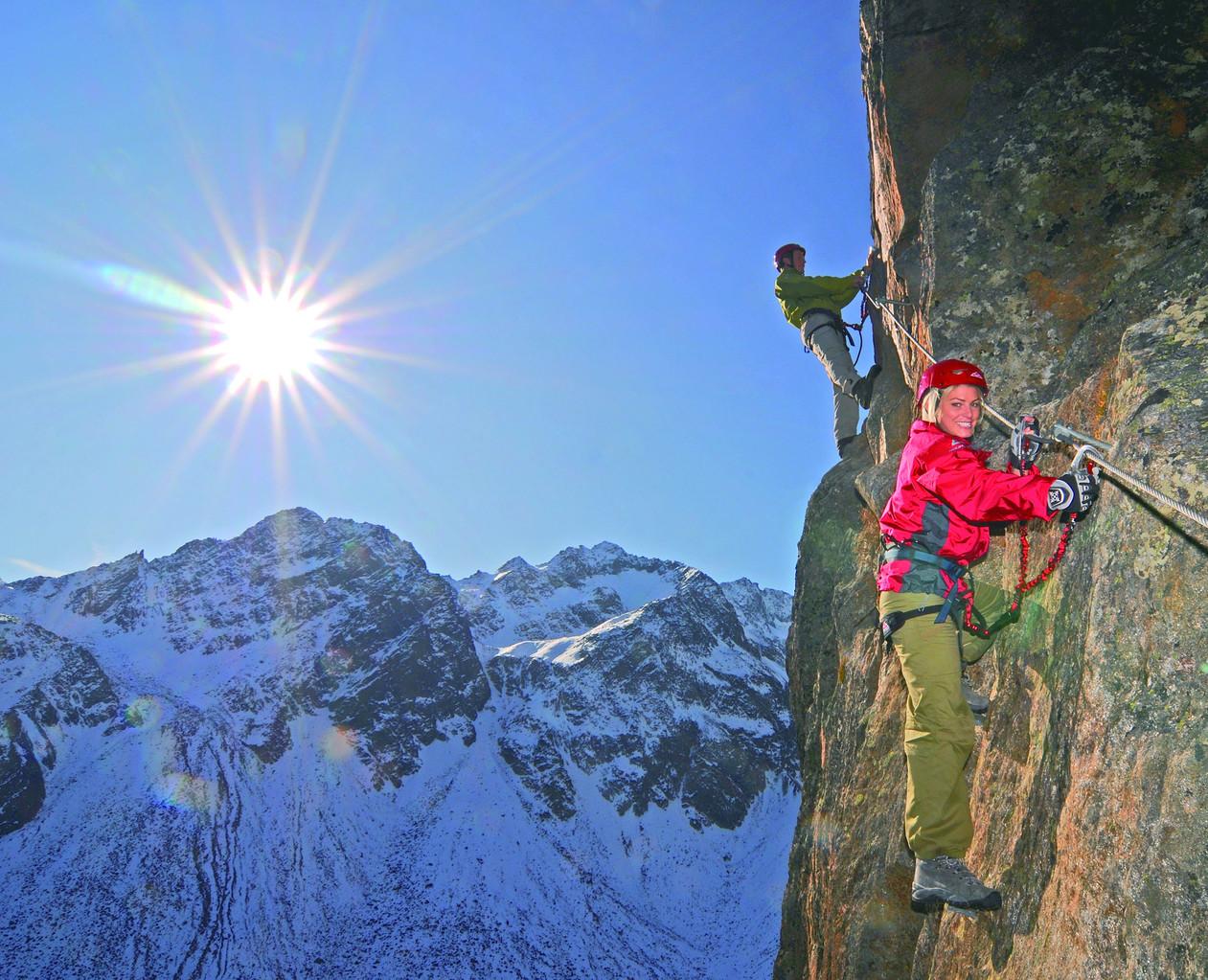 Kletterparadies - Bildarchiv TVB Stubai