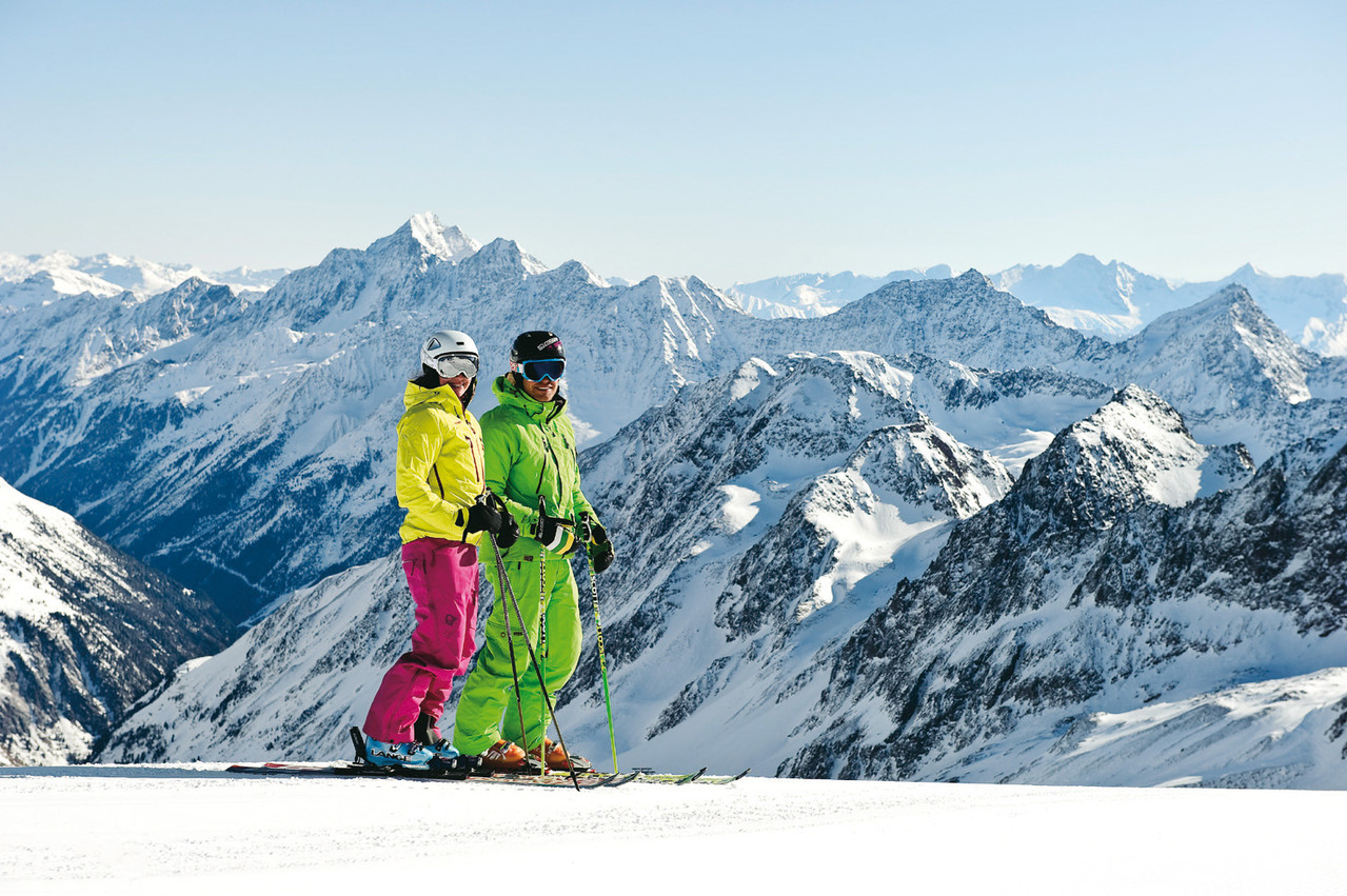 Skiurlaub zu zweit - Bildarchiv TVB Stubai