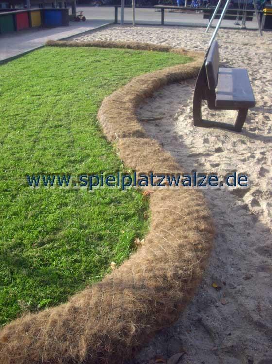 Abgrenzung einer Grünfläche