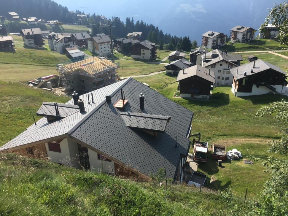 Sanierung Eternit-Dach - Riederalp (2)