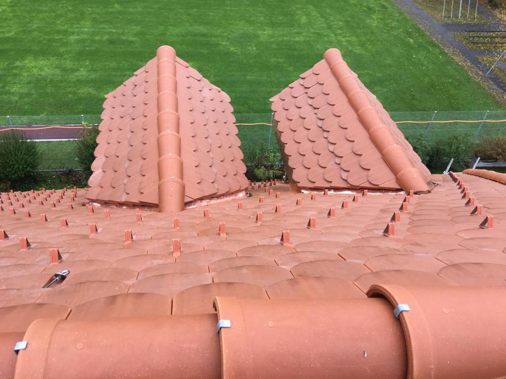 Biberschwanzziegel-Dach (vaudaire gewellt) - Thun