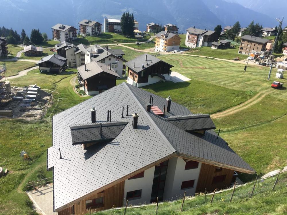 Sanierung Eternit-Dach - Riederalp
