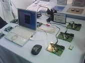 DM1810によるセンサーネットワークのデモサンプルです