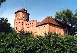 Burg Neustadt-Glewe in der Nähe von Friedrichsmoor