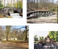 Ausflugsziel vom Jagdschloss Friedrichsmoor - Schlossgarten Ludwigslust
