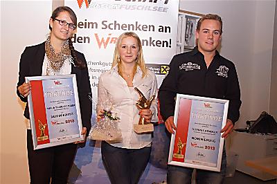 WIR-Lehrlingsaward Verleihung 2013 - Siegerfoto