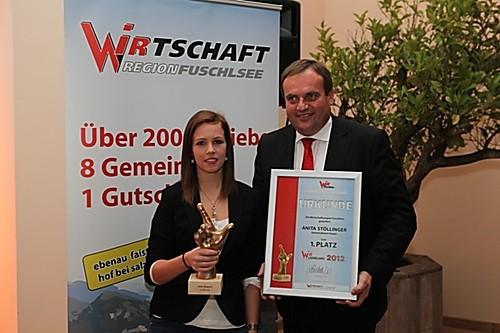 WIR-Lehrlingsaward Verleihung 2012 - Siegerfoto