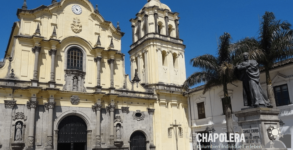 4 Tage Reisebaustein Cali & Popayan (Foto: Kirche Iglesia San Fransisco in Popayan)