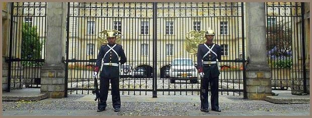 Präsidentengarde in Bogota