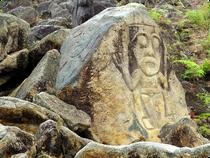 Wasserfall Salto de Bordones - San Agustin - Jeeptour - Kolumbien