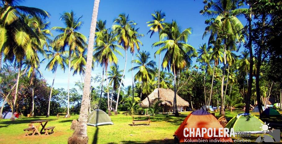 Camping El Paraiso - Bukaru - Tayrona Nationalpark - Kolumbien
