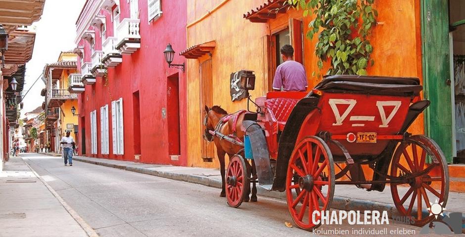 21 Tage Kolumbien Rundreise - die Schätze Kolumbiens (Foto: Koloniale Altstadt Cartagena)
