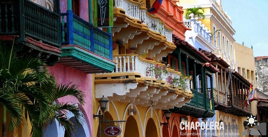 9 Tage Kolumbien Rundreise Karibik Küste (Foto: Plaza de Reloj in Cartagena)