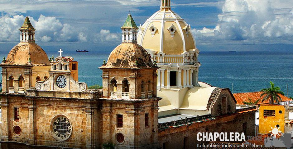 Reisebaustein Cartagena, Isla Rosario & Schlammvulkan Totumo (Foto: Convento Pedro Claver in Cartagena)