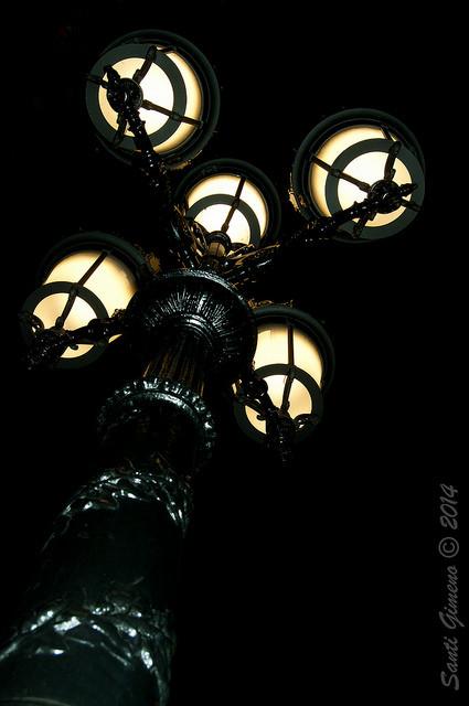 Fanal del passeig de Gracia de Barcelona