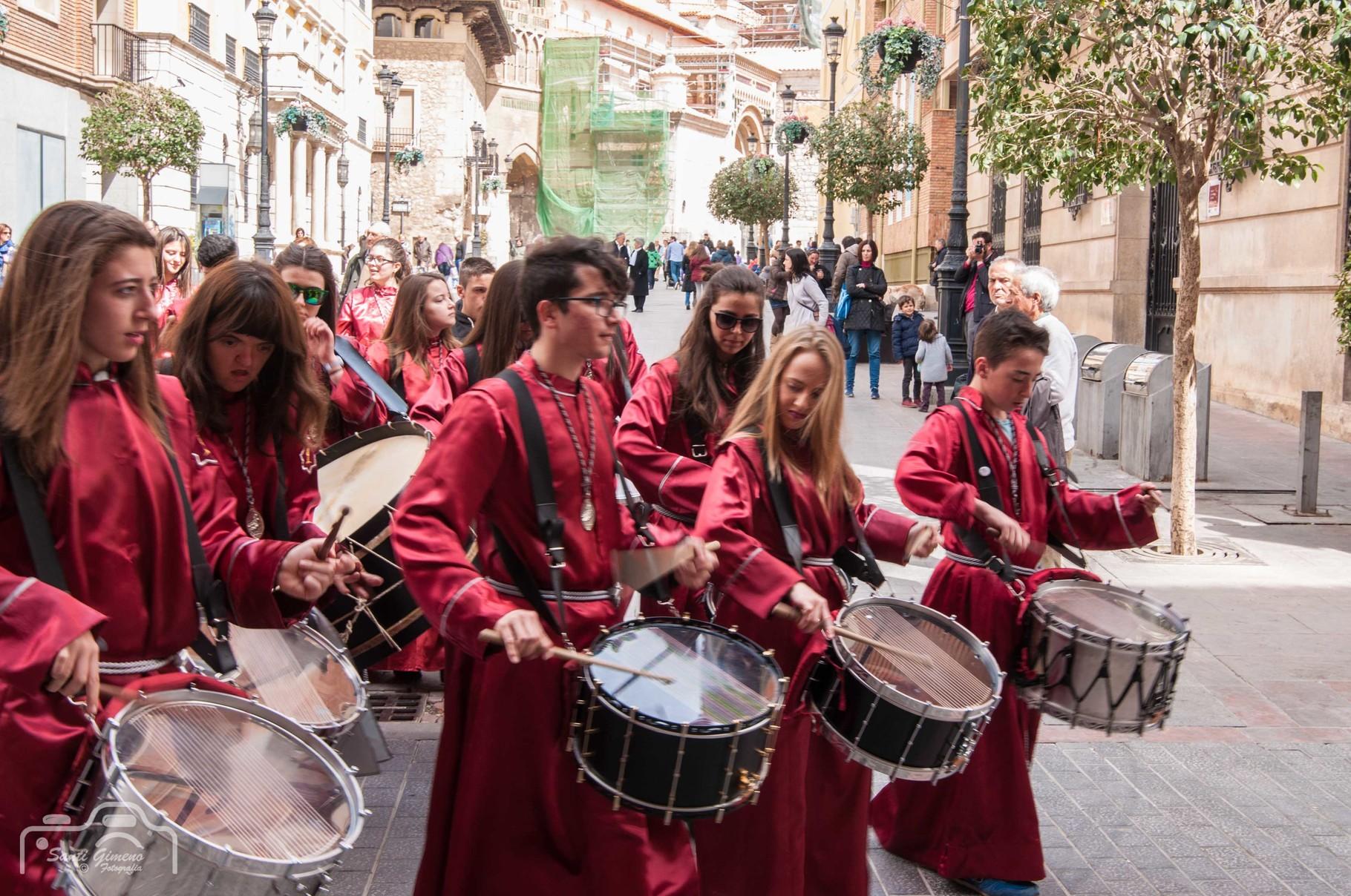 """""""Tambores"""" a setmana Santa de Teruel"""