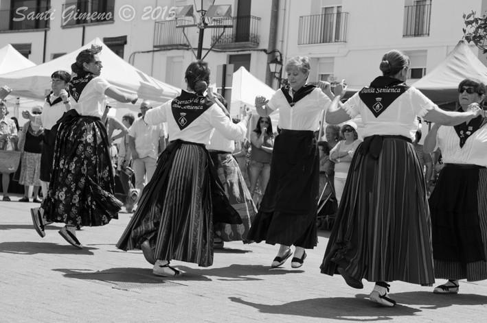 Demostració de la recuperació de la dansa Senienca