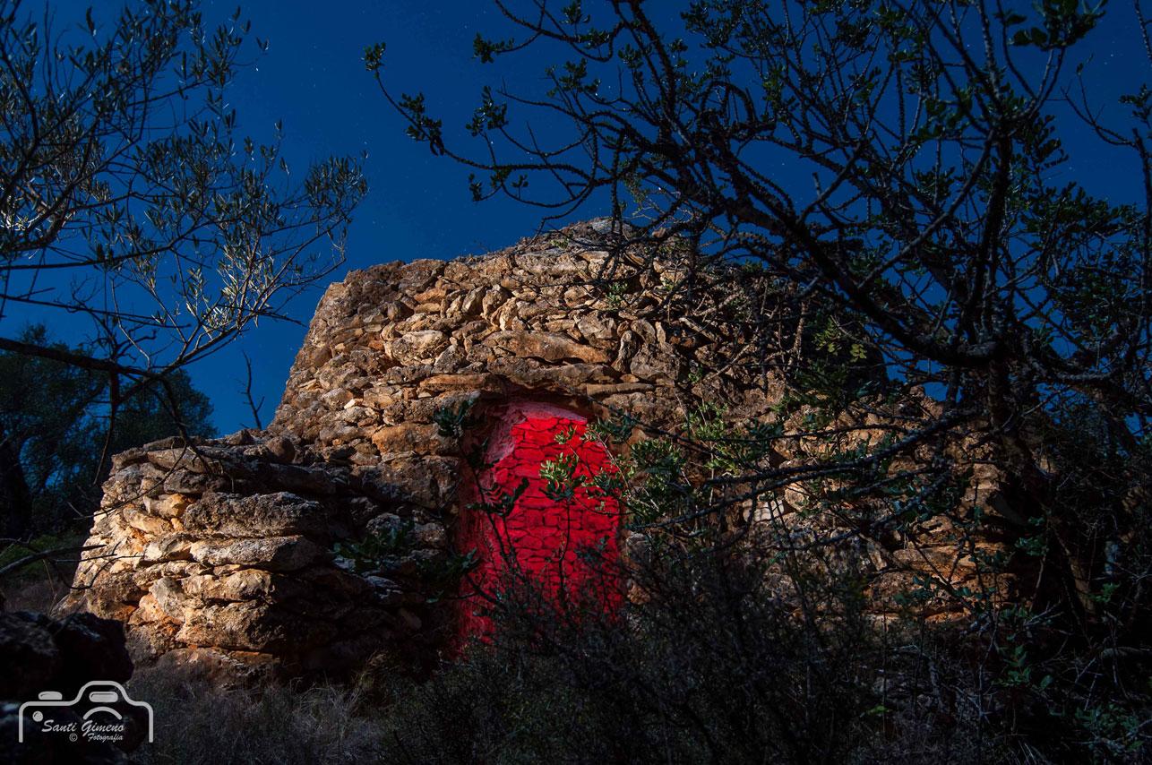 Caseta amb volta de pedra seca