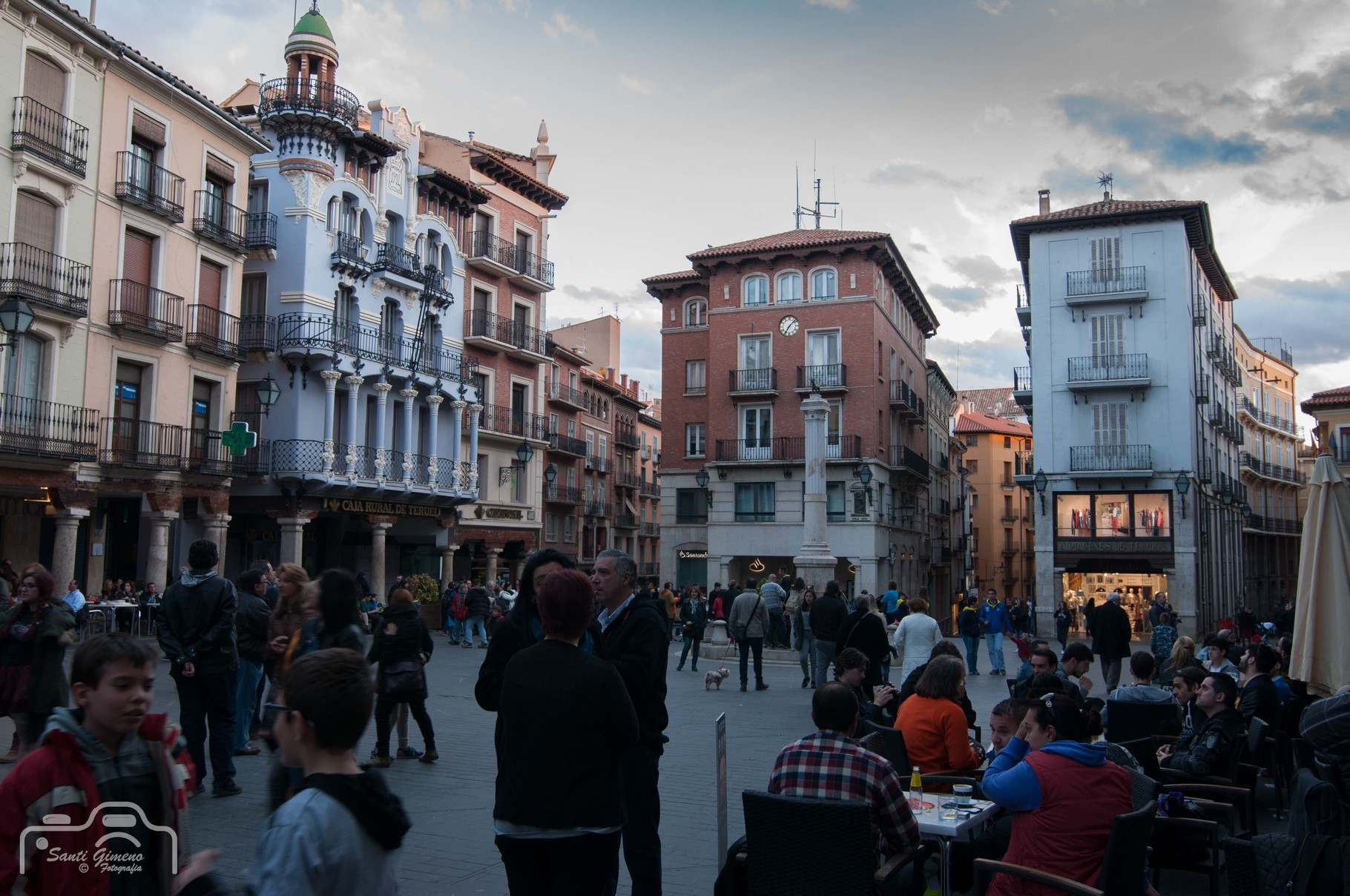 Plaça del torico, Teruel