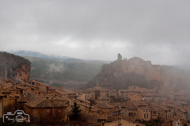 Vista d' Alquezar (Huesca)