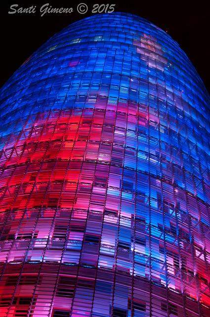 Buscant nous punts de vista, Torre Agbar Barcelona