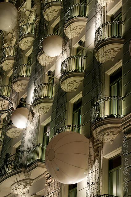 Façana de l' hotel Majestic de Barcelona