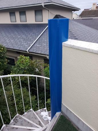 富士宮K邸様の壁及び階段塗装工事 施工実績