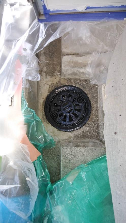 函南町│排水口塗装工事 施工実績