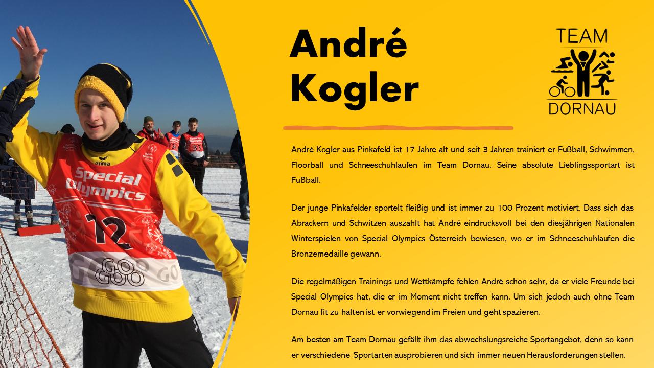 André Kogler aus Pinkafeld