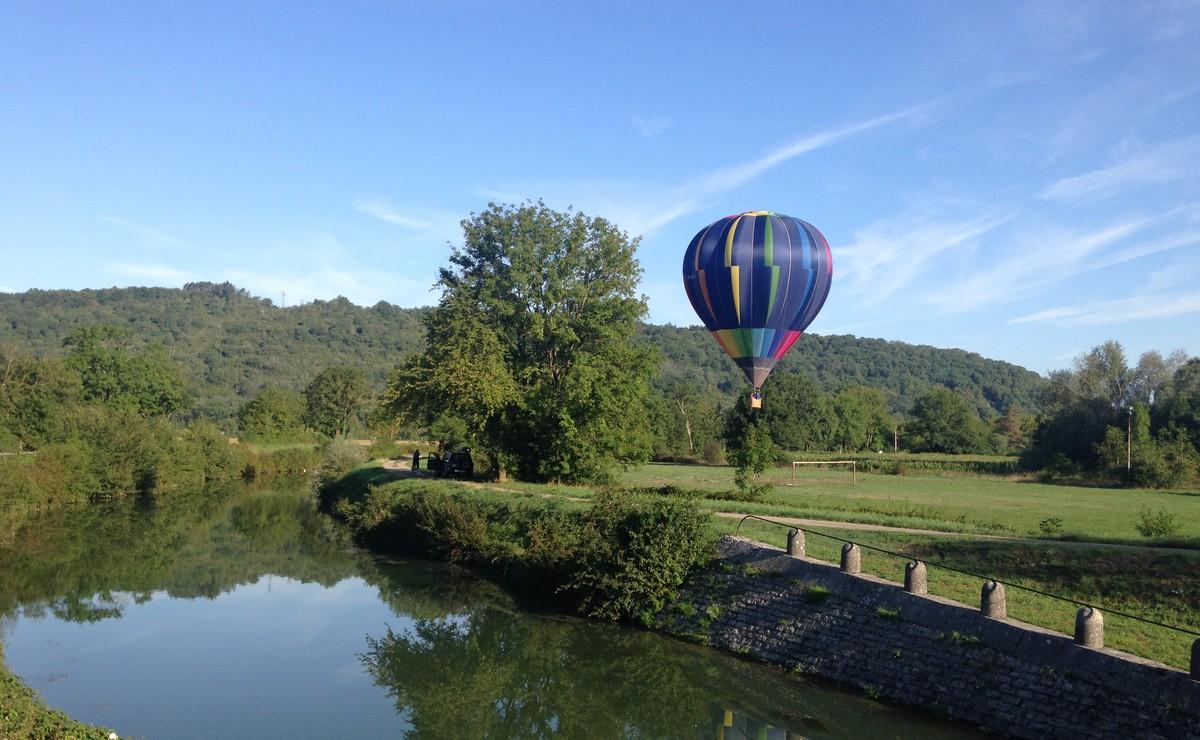montgolfière à Osselle