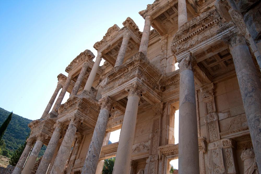 Biblioteca de Éfeso. © Leonardo Ara Pueyo.