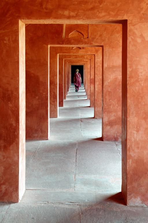 Fuga en Agra. © Javier Ara Cajal.