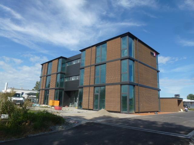Bürogebäude Essendi-IT Schwäbisch Hall © Heizungstechnik Peter Dürrwangen