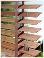 Holzjalousie Bamboo