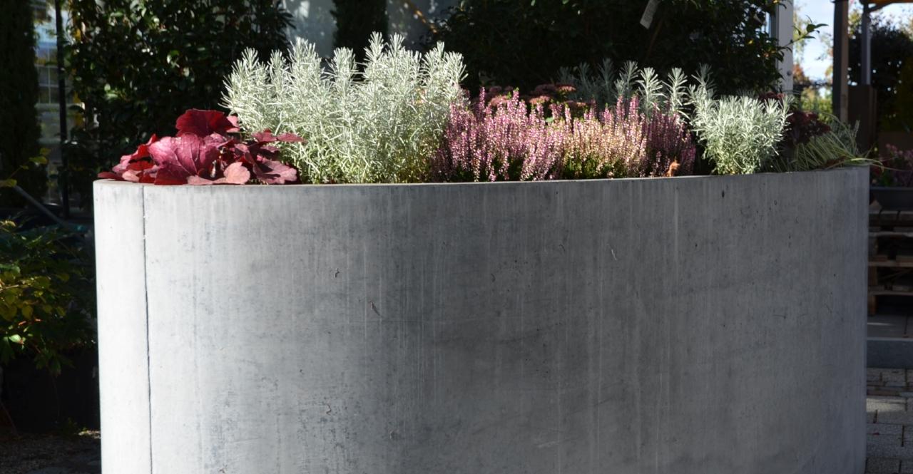 Hochbeet Beton Oval Neubauers Webseite